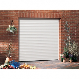 Garador Gararoll Aluminium White Garage Door 2136mm X 4269mm