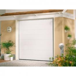 Garador Linear Premium White Sand Garage Door 2136mm X 2134mm