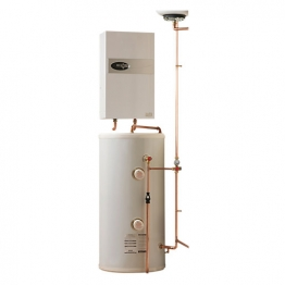 Electric Heating Company Eclipse Cpsdecl12/210 Electric Boiler Complete With Direct Cylinder 12kw 210l