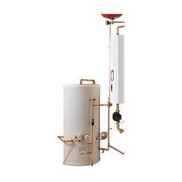 Electric Heating Company Compact Cpsicomp12/180 Electric Boiler Complete With Indirect Cylinder 12kw 180l