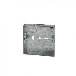 4trade Metal Box 1 Gang 47mm