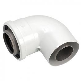 Worcester Bosch 7719002348 90 Degree Elbow Flue