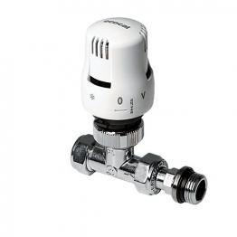 Altecnic 200425 Ltc Ecocal Angled Body Thermostatic Radiator Valve White Head 15mm