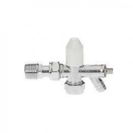 Drayton Angled Lockshield & Drain Off 15mm
