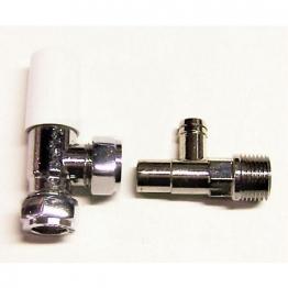 Plumbright 15mm Str Wh/ls Cp Rad Vlv