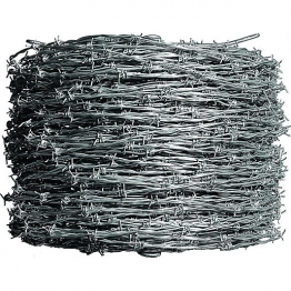 Barbed Wire Coil 4 Point 2.5mm 15m