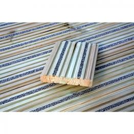 Antislip Profiled Treated Timber Decking - 32mm X 150mm