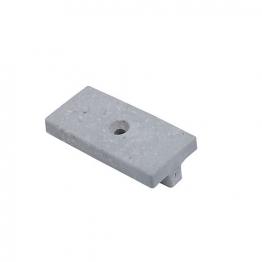 Upm Profi Deck 150 T-clips Pearl Grey 1 Hole Box 100
