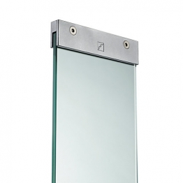 Richard Burbidge Ld258 Glass Panel With Brackets 876mm X 150mm X 8mm