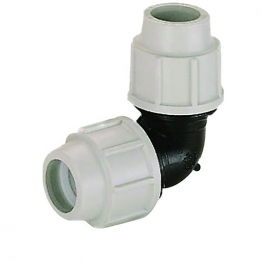 Plasson Compression Equal Elbow 63mm