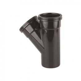 Osmasoil 110mm System Black Single Branch 4s210