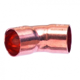 Obtuse Elbow 45 Degree End Feed 22mm