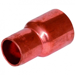Reduced Straight Coupler End Feed 28mm X 22mm
