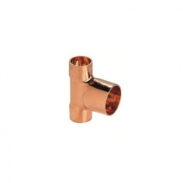 End Feed Two End Branch Reducer 22mm X 22mm X 28mm