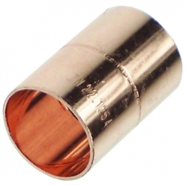 Straight Slip Coupling End Feed 22mm