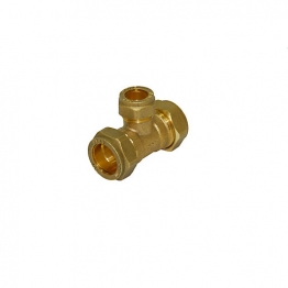 Reduce Branch Tee Compression 22mm X 22mm X 15mm