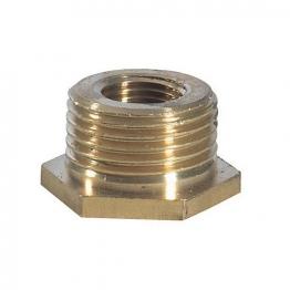 Compression Brass Hexagonal Bush 12mm X 25mm