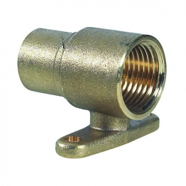 Straight Bayonet Wall Connector 1/2in