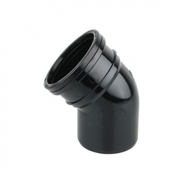 Soil 4s363b 110mm Ring-seal/solvent Weld Bend 45