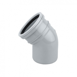 Soil 4s163g 110mm Ring-seal Bend 45