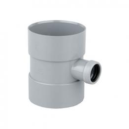 Osmasoil 4s584g 110mm Solvent Weldbossed Pipe X40mm (ring Seal) Grey