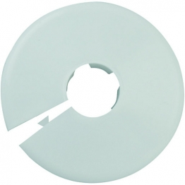 Talon Pipe Collars White 15mm (pk Of 50)