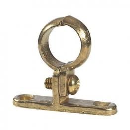 Cast Brass Pipe Clip 15mm