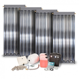 Solfex 4 X Cpc6 Oem Vacuum Tube Solar Thermal Prestige Pack Tile