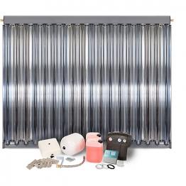 Solfex 1 X Cpc18 Inox Vacuum Tube Solar Thermal Prestige Pack