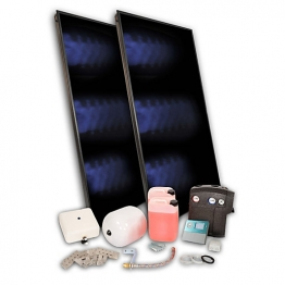 Solfex Dsk-05958 Energy Systems 2 X Fk500p Portrait On-roof Solar Thermal Pack For Slate Roof