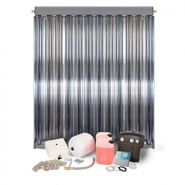 Solfex Dsk-05912 Energy Systems 1 X Cpc12 Inox Vacuum Tube Solar Thermal Pack For Tiled Roof