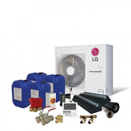 Lg Therma-v 3kw Prestige Air Source Heat Pump Pack