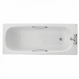 Twyford Celtic Steel Bath Only 140l 1700 Antislip Cb1572wh