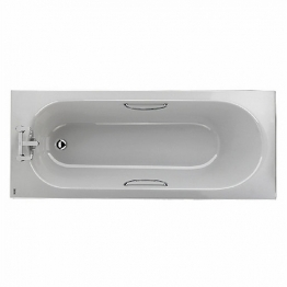Opal 1700 X 700 Bath 2 Tap Hole Cp Grips 130l