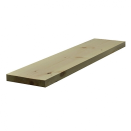 Redwood Planed Timber Standard 38mm X 225mm Finished Size 33mm X 219mm