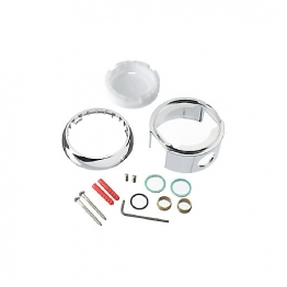 Mira 415-ev Combiforce Valve & Kit Chrome Plated / White 11542003
