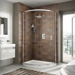 Iflo Alamere Offset Quadrant Shower Enclosure 1200x910 Mm