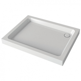Mira Flight 1.1783.011.wh Shower Tray 4 Upstands And Waste 760x900mm