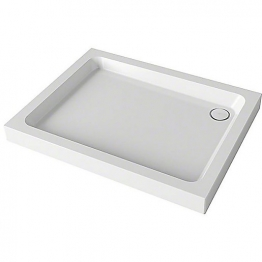 Mira Flight 1.1783.021.wh Shower Tray 4 Upstands And Waste 800x1000mm