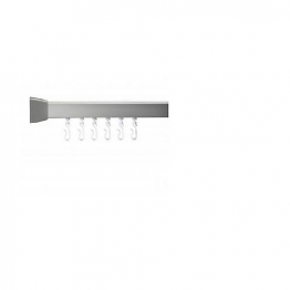 Gelson Gp86000 Mod4 800 Shower Rail 760mm Silver