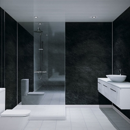 Multipanel Classic Shower Panel 2400 X 1200mm Unlipped Riven Slate 2859