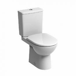 Twyford E11248wh E100 Square/round Close Coupled Premium Pan White