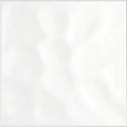 Bct Reflections Gloss Bumpy White 198mm X 198mm
