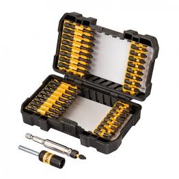 Dewalt 34 Piece Impact Torsion Screwdriving Set & 85mm Magnetic Bit Tip Holder