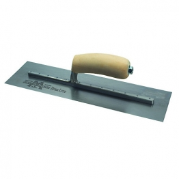 Marshalltown Cement Trowel With Wooden Handle 14 X 4in