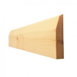 Skirting Chamf&pencil Round Best Patt107 25mm X 100mm (fin Size 20mm X 94mm)