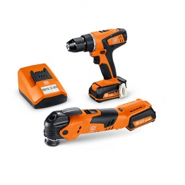 Fein 12v Cordless Drill & Multi Tool Pack 2 X 2.5ah Li-ion Batteries