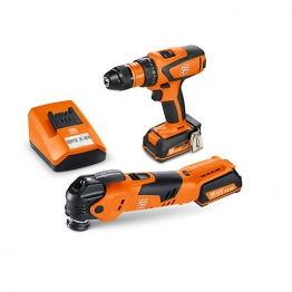 Fein 12v Cordless Brushless Drill & Multi Tool Pack 2 X 2.5ah Li-ion Batteries