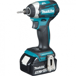Makita Lxt 18v Cordless Brushless Impact Wrench 2 X 5.0ah Li-ion Batteries Dtd154rtj