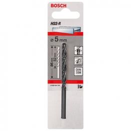 Bosch Hss-r Metal Drill Bit 5 X 52 X 86mm 2608596795